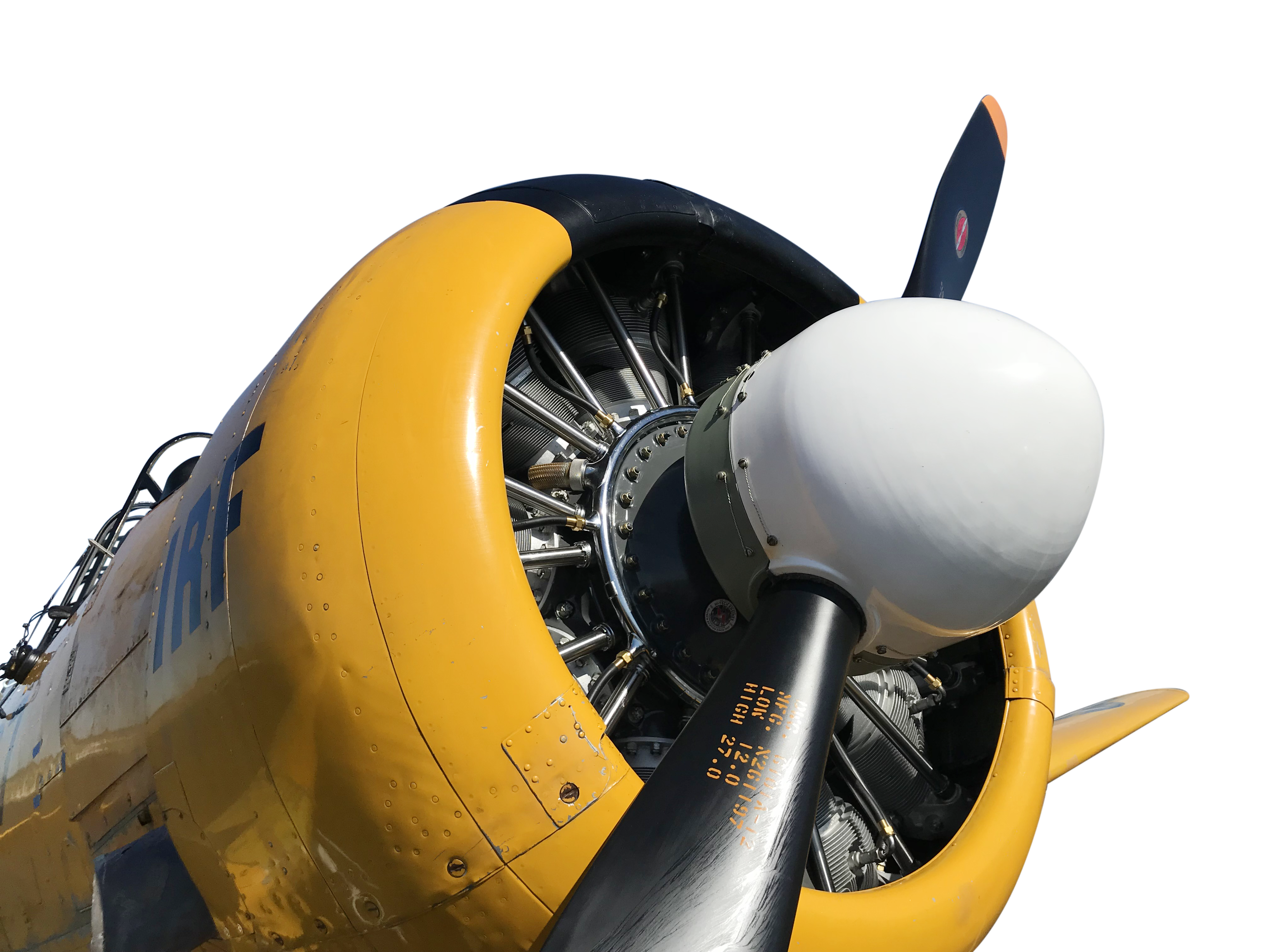 ole yeller nose t-6
